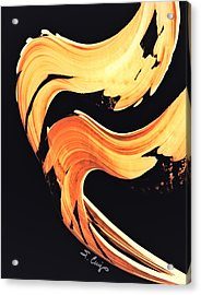 Firewater 5 - Abstract Art By Sharon Cummings Acrylic Print by Sharon Cummings