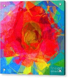 Firewheel - Gaillardia Pulchella Acrylic Print