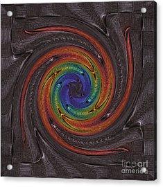 Firework Dark Acrylic Print