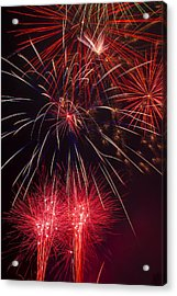 Firework Majesty  Acrylic Print by Garry Gay