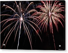 Fireworks 2 Acrylic Print by Andrew Nourse