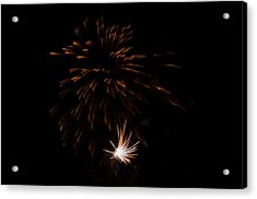 Acrylic Print featuring the photograph Fireworks 2 by Susan  McMenamin