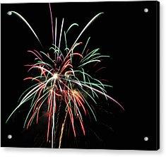 Fireworks 5 Acrylic Print