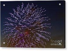 Fireworks Abstract 02 Acrylic Print