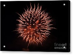 Fireworks Abstract 03 Acrylic Print by Crush Creations
