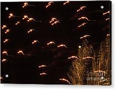 Fireworks Abstract 05 Acrylic Print