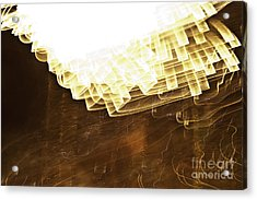 Fireworks Abstract 08 Acrylic Print by Crush Creations
