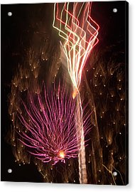 Fireworks Acrylic Print by Aimee L Maher Photography and Art Visit ALMGallerydotcom
