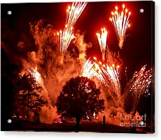 Fireworks At Epcot 1 Acrylic Print