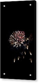 Fireworks At Night Acrylic Print