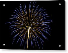 Fireworks Bursts Colors And Shapes 3 Acrylic Print