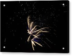 Fireworks - Dragonflies In The Stars Acrylic Print