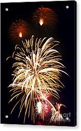 Fireworks Acrylic Print by Elena Elisseeva