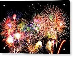 Fireworks Finale Acrylic Print