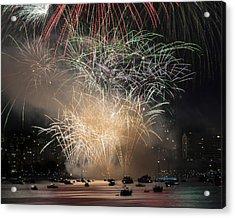 Fireworks In Englishbay 1 Acrylic Print