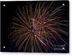 Fireworks Acrylic Print by Jason Meyer