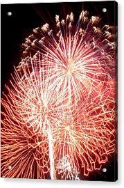 Fireworks Acrylic Print by Joseph Norniella