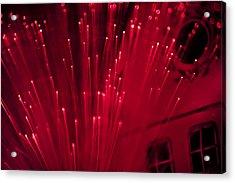Fiber Optic Fireworks Acrylic Print