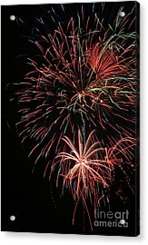 Fireworks6525 Acrylic Print by Gary Gingrich Galleries