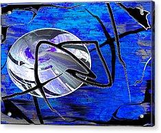 Firmament Cracked #6 - Veneers Acrylic Print by Mathilde Vhargon