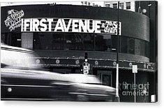 First Avenue Acrylic Print by Kip Krause