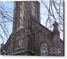 First Baptist Church Acrylic Print