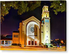 First Baptist Church Of Pensacola Acrylic Print