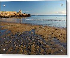 First Beach Sunrise In Rockport Acrylic Print
