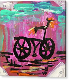 First Bike Acrylic Print