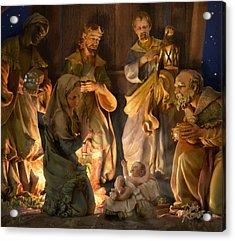 First Christmas Acrylic Print by Doug Kreuger