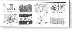 First Citizens  White Men  Central Park  Mass Acrylic Print
