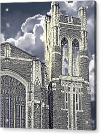 First Congregational Acrylic Print