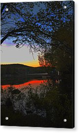 First Dark Acrylic Print by Dottie Branchreeves
