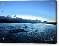 First Ferry Home Acrylic Print