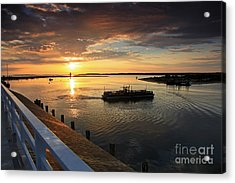 First Ferry To Chappaquidick Acrylic Print