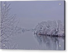Acrylic Print featuring the photograph First Frost by Lynn Hopwood
