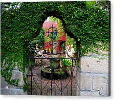 First Gate Acrylic Print by Phil King