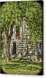 First House In Wichita Acrylic Print