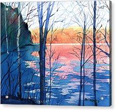 First Ice Acrylic Print