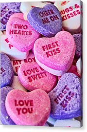 Acrylic Print featuring the photograph Valentines Day by Vizual Studio