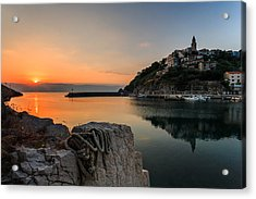 First Light Acrylic Print by Davorin Mance