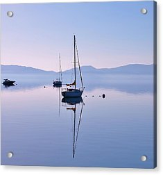 First Light Lake Tahoe  Acrylic Print