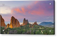 First Light Of Day Acrylic Print by Tim Reaves