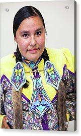 First Nation Protest Against Tar Sands Acrylic Print by Ashley Cooper