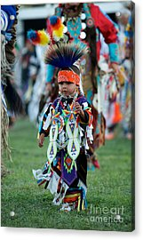 First Powwow Acrylic Print by Chris Brewington Photography LLC