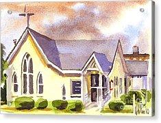 First Presbyterian Church Ironton Missouri Acrylic Print by Kip DeVore