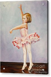 First Recital Acrylic Print