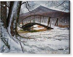 First Snow Of The Season Acrylic Print