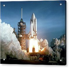 First Space Shuttle Launch Acrylic Print