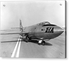 First Supersonic Aircraft, Bell X-1 Acrylic Print